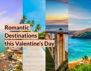 Romantic Destinations this Valentine's Day Typo