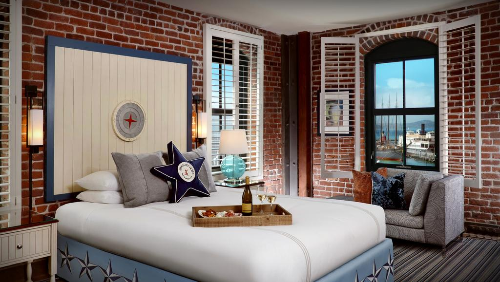 King Room with Bay View Argonaut Hotel, A Noble House Hotel