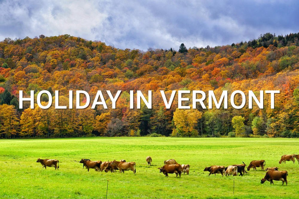 Green Mountains of Vermont text