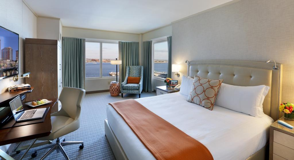 King Room with Harbor View Seaport Hotel Boston