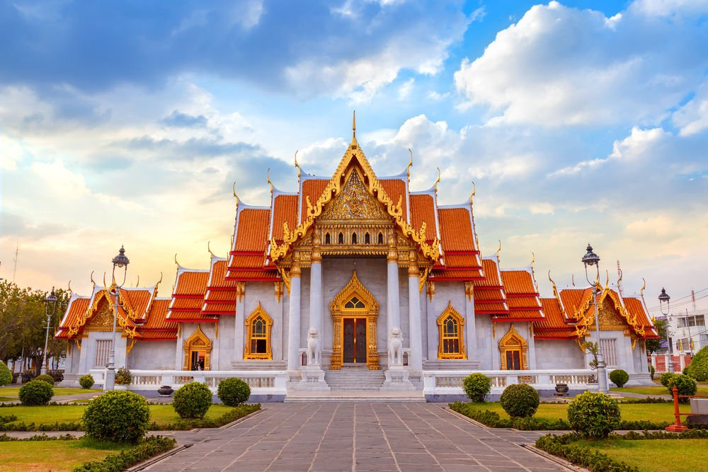 The Marble Temple, Wat Benchamabopit Dusitvanaram in Bangkok Things to do in Thailand