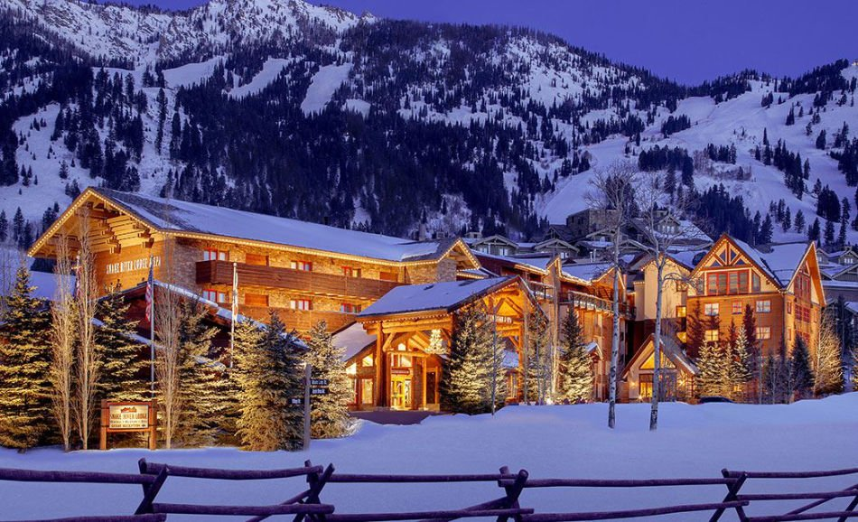 Snake River Lodge & Spa, Teton Village Spa hotels in Wyoming