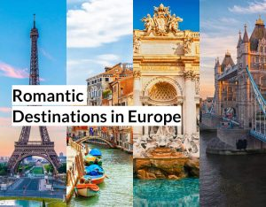romantic destinations in Europe