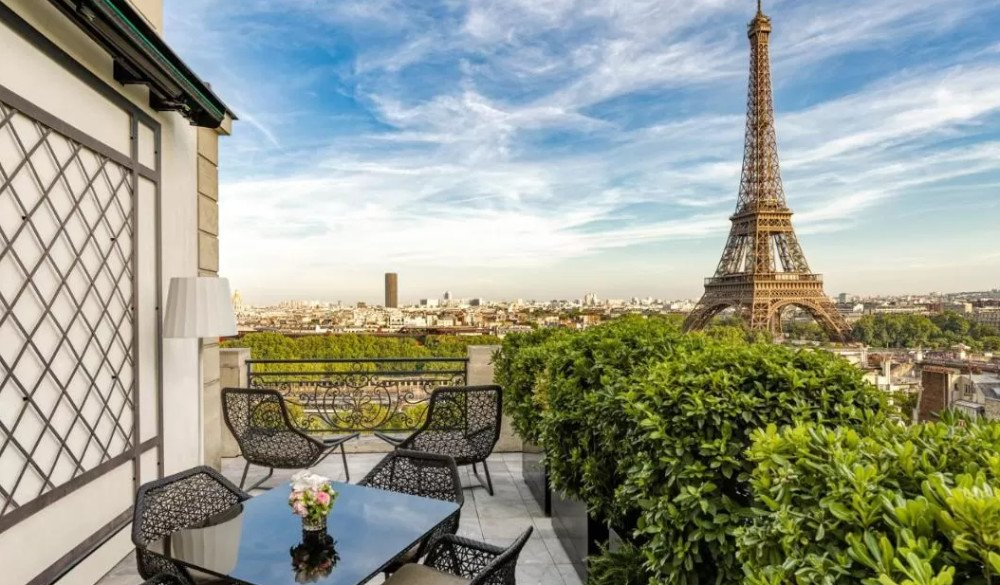 Shangri-la Hotel, Paris Hotels With A View Of The Eiffel Tower