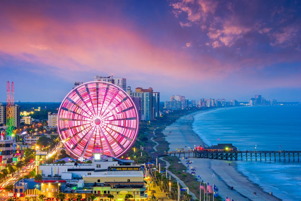 Myrtle Beach Trip Ideas in Independence day