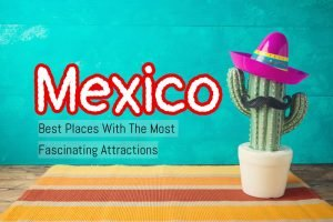 Cinco de Mayo holiday background with Mexican cactus and party s
