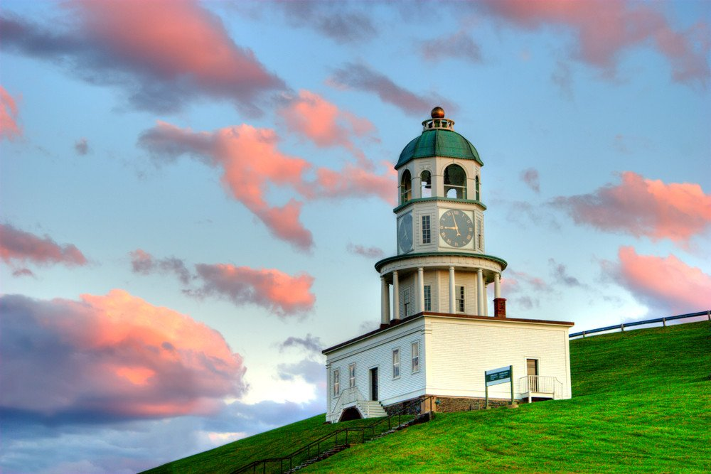 The Clock Tower on Citadel Hill in Halifax, Nova Scotia Amazing Places in Canada