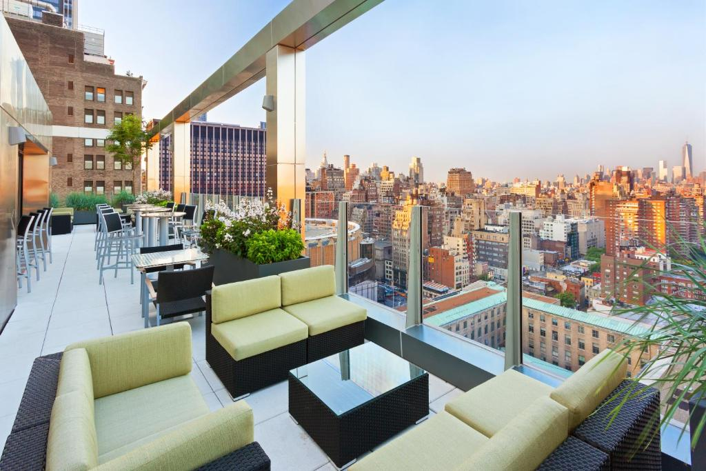 Rooftop at Fairfield Inn & Suites Midtown NYC Manhattan/Penn Station  Hotels near the Vessel NYC