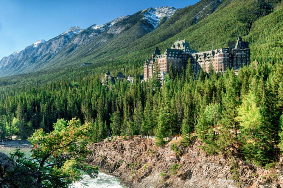 The Fairmont Banff Springs Hotel at Alberta Experience hotels in Canada