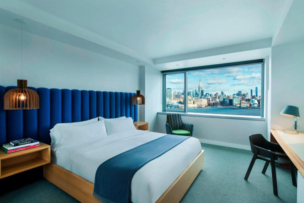 W Hoboken Hotels with the hudson river views