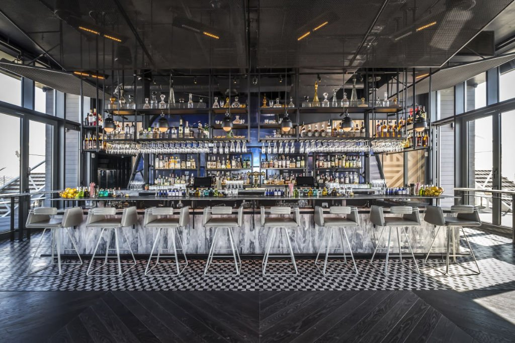 Westlight at the William Vale Best hotels bars in New York
