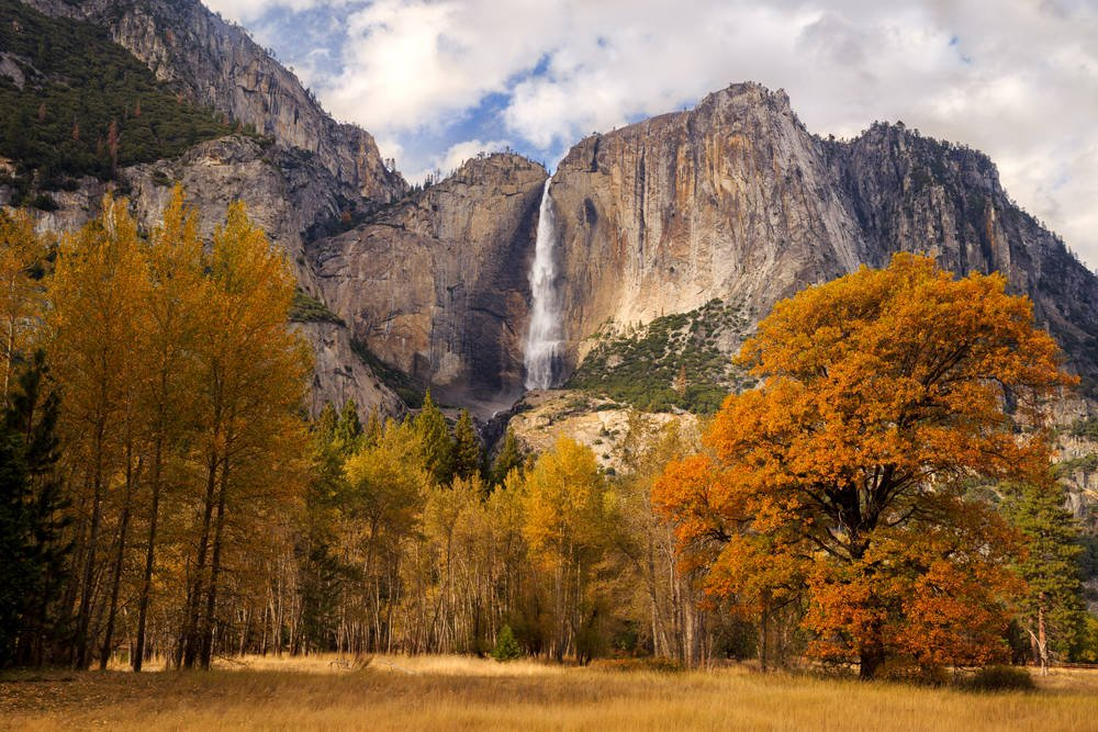 Yosemite Valley is the most popular rock climbing area in the US