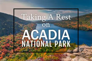 Taking A 'Rest' on The Acadia National Park