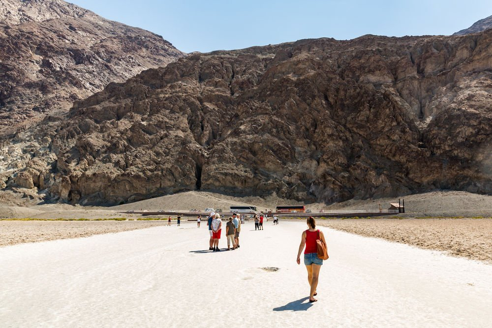 Badwater Basin death valley travel guide
