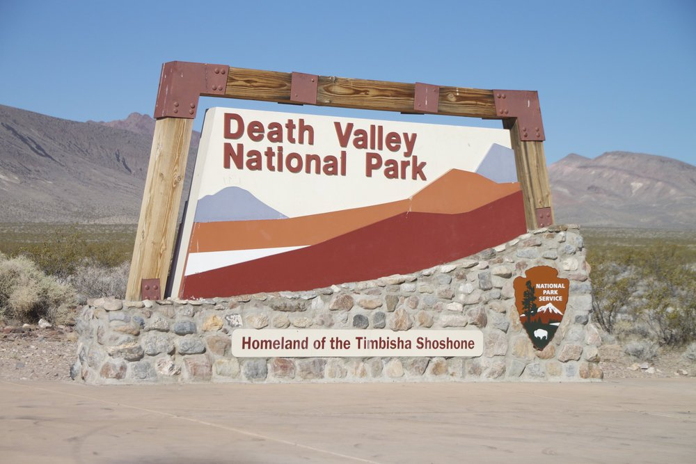 Entrance of Death Valley National Park  death valley travel guide