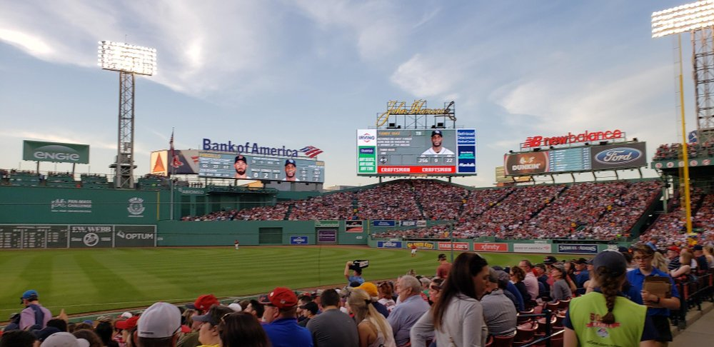 Watch a Game at the Fenway Park