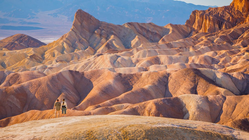 Landscaping of Death Valley death valley travel guide